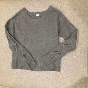 Grey Knit Sweater GARAGE